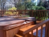 Deck Stain Project